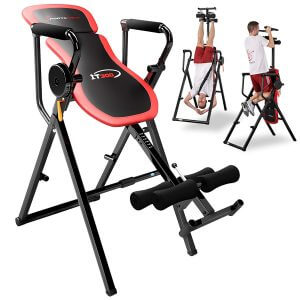 Sportstech Table d'Inversion Multifonctions IT300 Musculation Traction 6-en-1