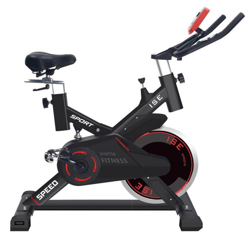 ISE Vélo d'appartement Ergomètre Spinning Biking
