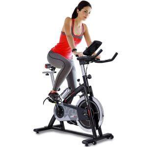 Sportstech Vélo d'appartement ergomètre SX200