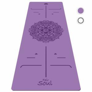 tapis de yoga professionnel Fair Soul