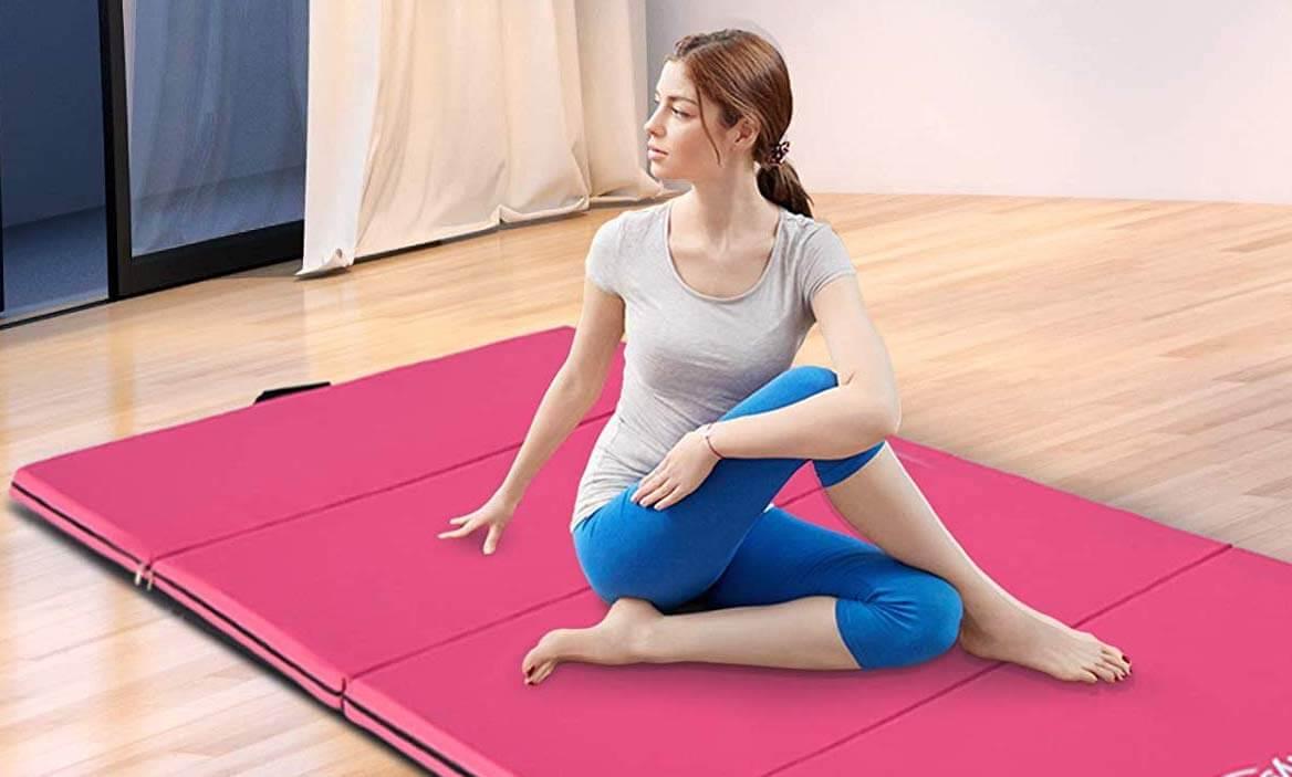 meilleur tapis de yoga pliable : physionics