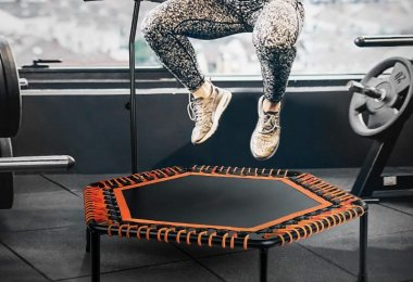 meilleur trampoline de fitness