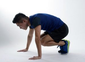 cardio exercises to do at home without equipment - burpee
