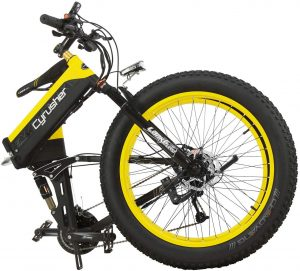 fat bike pliant