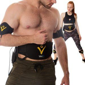 VEOFIT Ceinture Abdominale Electrostimulation et Musculation EMS