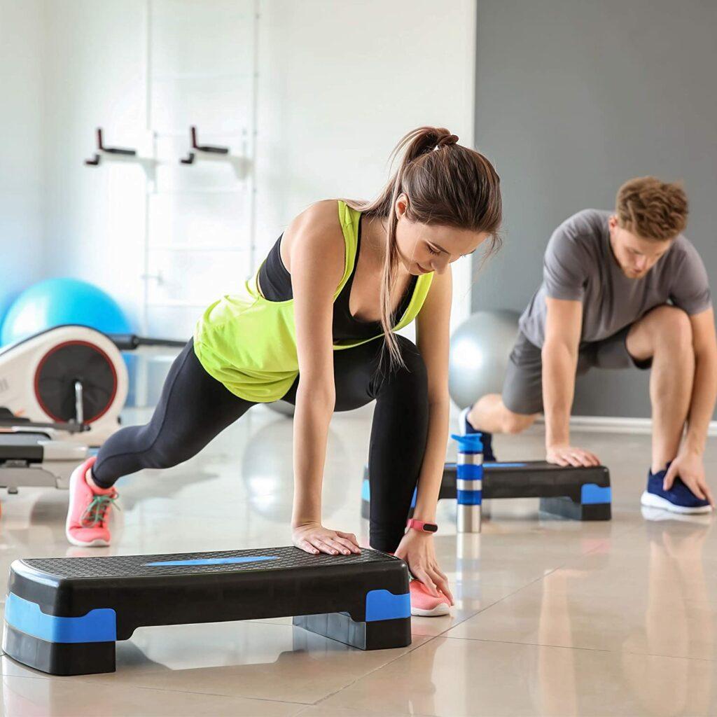 planche stepper aerobic