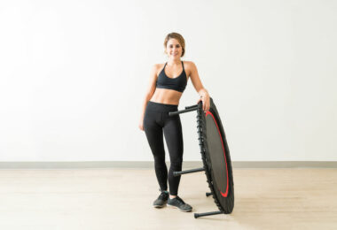 exercices trampoline fitness